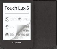 PocketBook Touch Lux 5 Ink Zwart + PocketBook Shell Book Case Zwart