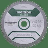Metabo Multi Cut Lame de Scie Universelle 216 x 30 x 1,8 mm 60D
