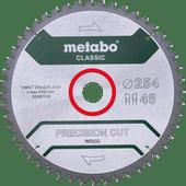 Metabo Lame de Scie Precision Cut Wood 254 x 30 x 1,8 mm 48D