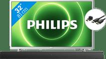 Philips 32PFS6855 + Soundbar + HDMI kabel