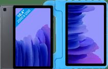 Samsung Galaxy Tab A7 64 Go Wi-Fi Gris + Just in Case Étui pour Enfants Bleu