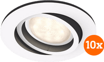Philips Hue Milliskin inbouwspot White Ambiance Wit - rond 10-Pack