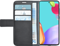 Azuri Wallet Samsung Galaxy A52 Book Case Zwart