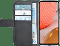 Azuri Wallet Samsung Galaxy A72 Book Case Zwart