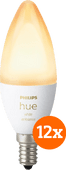 Philips Hue White Ambiance E14 Bluetooth 12-Pack