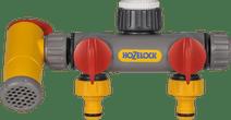 Hozelock 2-weg waterverdeler + aftapkraan
