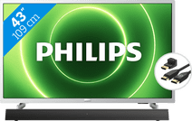 Philips 43PFS6855 + Soundbar + HDMI kabel
