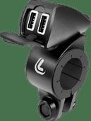 Lampa USB Fix Trek Universele Oplader Motor met 2 Usb A Oplaadpoorten