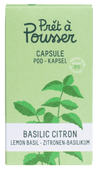 Pret a Pousser Indoor Garden Navulling Lemon Basil