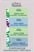Pret a Pousser Indoor Garden Navulling Basil 4-Pack