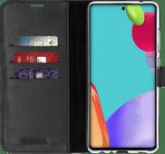 Valenta Gel Skin Samsung Galaxy A52s / A52 Book Case Zwart