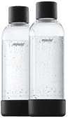 Mysoda Woody bottles 2x 1 liter Mysoda