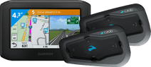 Garmin Zumo 346 LMT-S West Europa + Cardo Scala Rider Freecom 2 Plus Duo