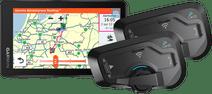 Garmin Zumo XT Motor Europa + Cardo Scala Rider Freecom 4 Plus Duo
