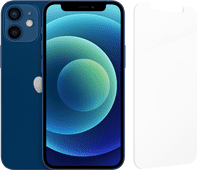 Apple iPhone 12 Mini 128GB Blue + InvisibleShield Glass Elite Screen Protector