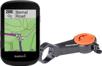 Garmin Edge 530 + CloseTheGap HideMyBell Regular Noir Guidon