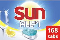 Sun All-in-1 Citroen - 7 x 24 vaatwastabletten