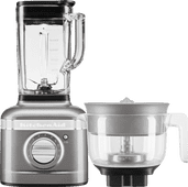 KitchenAid Artisan K400 5KSB4026EMS Tingrijs + citruspers opzetstuk
