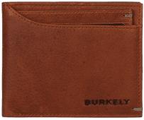 Burkely Antique Avery Billfold Low 10 Cards Cognac