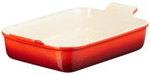 Le Creuset ovenschaal 32 cm Rood