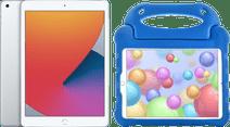 Apple iPad (2020) 10,2 pouces 32 Go Argent + Étui Enfants Bleu