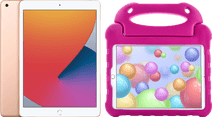 Apple iPad (2020) 10.2 inches 32GB Gold + Kids Cover Pink