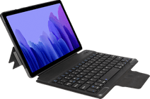 Gecko Keyboard Cover Samsung Tab A7 (2020) Étui Clavier AZERTY Noir
