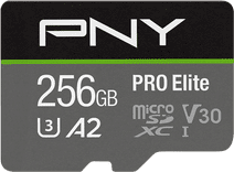 PNY MicroSDHC Pro Elite 256 Go 100 Mo/s