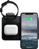 Nomad Base Station 3-in-1 Draadloze Oplader 10W met Apple Watch Stand