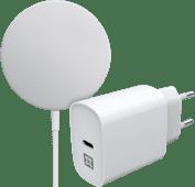 Apple MagSafe Chargeur sans Fil 15 W + Chargeur XtremeMac 20 W