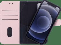 Decoded Apple iPhone 12 / 12 Pro 2-in-1 Case met MagSafe Leer Roze