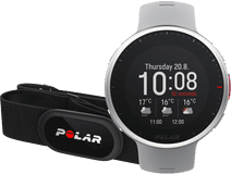 Polar Vantage V2 Grijs/Lime M/L + Polar H10 Hartslagmeter Borstband Zwart M-XXL