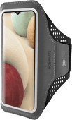 Mobiparts Comfort Fit Sportarmband Samsung Galaxy A12 Zwart