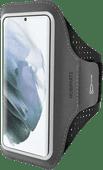 Mobiparts Comfort Fit Sportarmband Samsung Galaxy S21 Zwart