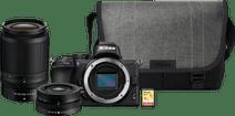 Nikon Z50 + 16-50mm + 50-250mm + Bag + 16GB Memory Card