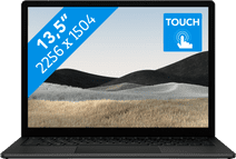 "Microsoft Surface Laptop 4 13.5"" i5 - 8GB - 512GB Zwart Azerty"