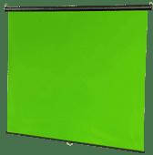 StudioKing Wand Pull-Down Green Screen FB-180200WG 180x200cm Chroma Groen