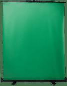 StudioKing Roll-Up Green Screen FB-150200FG 150x200cm Chroma Groen