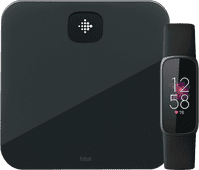 Fitbit Luxe Black + Fitbit Aria Air Black