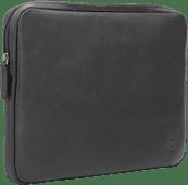 BlueBuilt 14 inch Laptophoes breedte 32 cm - 33 cm Leer Zwart Laptophoezen voor 14 inch laptops
