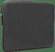 BlueBuilt 15 inch Laptophoes breedte 35 cm - 36 cm Leer Zwart
