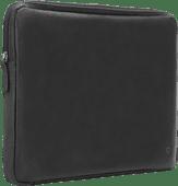 BlueBuilt 15 inch Laptophoes breedte 36 cm - 37 cm Leer Zwart Laptophoes voor 15 inch laptops