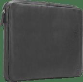 BlueBuilt 17 inch Laptophoes breedte 40 cm - 41 cm Leer Zwart Laptophoezen voor 17 inch laptops