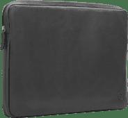 BlueBuilt 17 inch Laptophoes breedte 41 cm - 42 cm Leer Zwart Laptophoezen voor 17 inch laptops