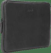 BlueBuilt Housse pour Ordinateur Portable Cuir Noir / Pour Apple MacBook Air/Pro 13 Pouces