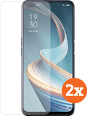 Azuri Tempered Glass OPPO Reno4 Z Screenprotector Duo Pack