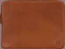 BlueBuilt 15 inch Laptophoes breedte 35 cm - 36 cm Leer Cognac