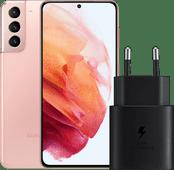 Samsung Galaxy S21 128GB Pink 5G + Samsung Fast Charger 25W