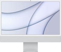 "Apple iMac 24"" (2021) 16GB/256GB Apple M1 met 8 core GPU Zilver AZERTY"