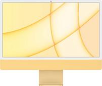 "Apple iMac 24"" (2021) 8GB/512GB Apple M1 met 8 core GPU Geel AZERTY"